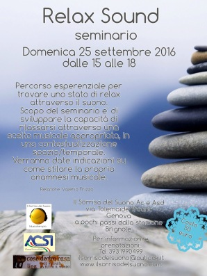 relax sould 25 settembre
