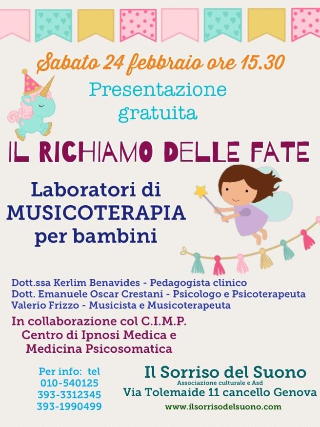 Musicoterapia Bambini Genova evento